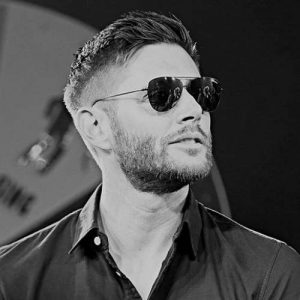 jensen ackles side part haircut
