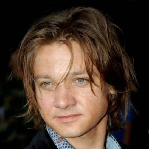 jeremy renner long hairstyle