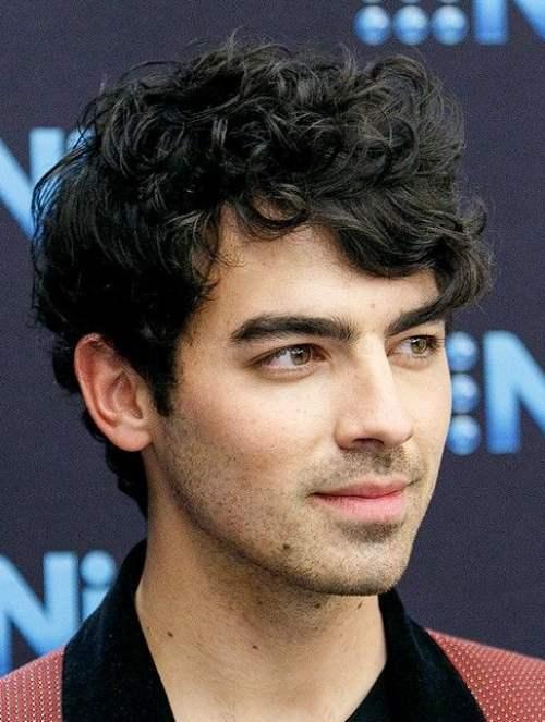 joe jonas curly hair