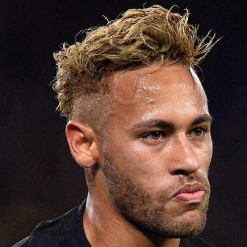 neymar haircut style