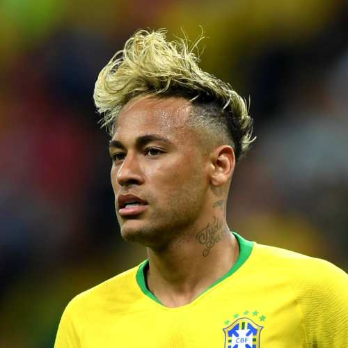 neymar haircut world cup