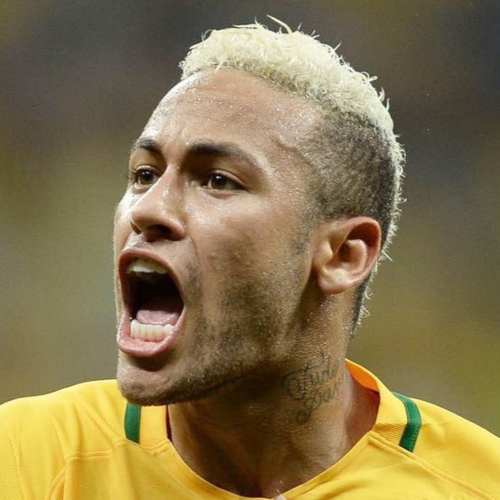 neymar hairstyle world cup 2014