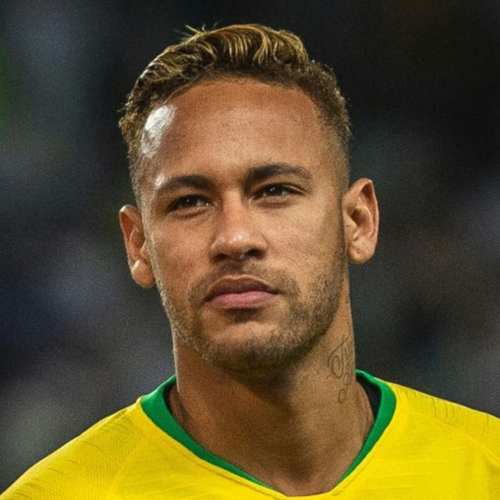 neymar quiff haircut