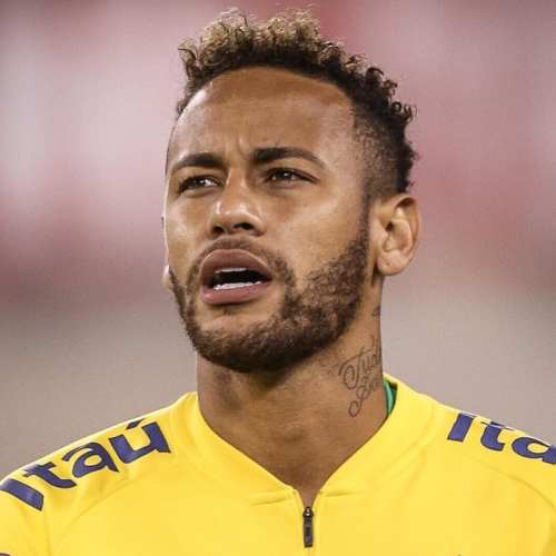 neymar world cup haircut