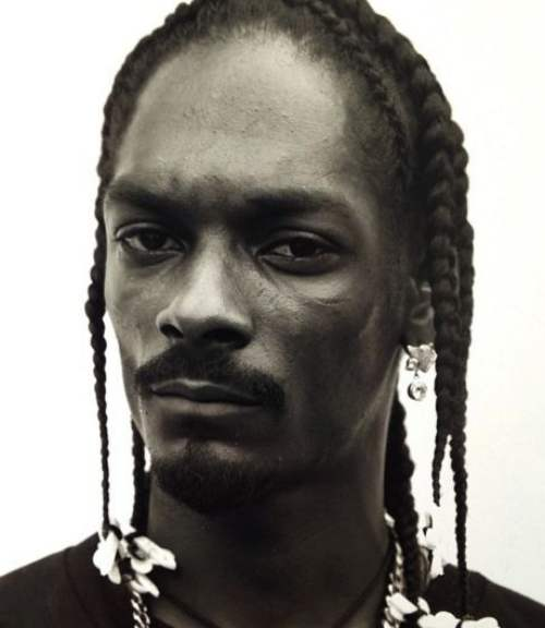 snoop dogg long hairstyle with braids