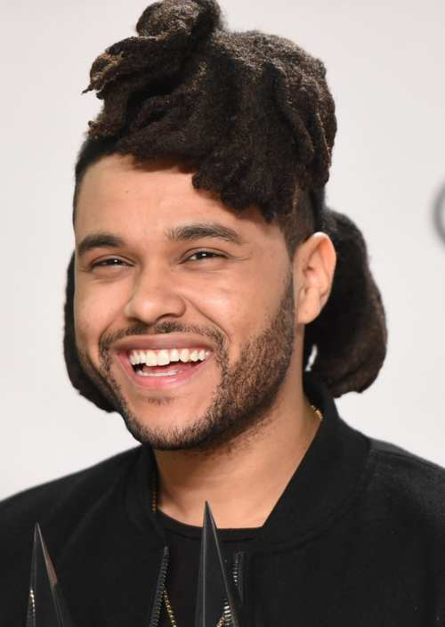 the weeknd hairstyle name