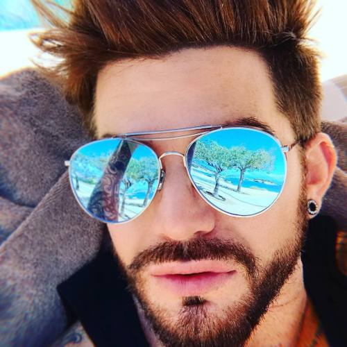 0 adam lambert hairstyle