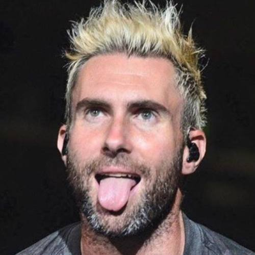 11 adam levine haircut short highlighted spiky haircut