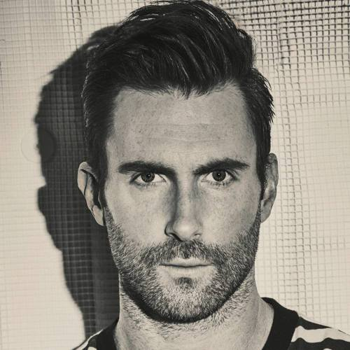 12 adam levine one side textured comb thin hair