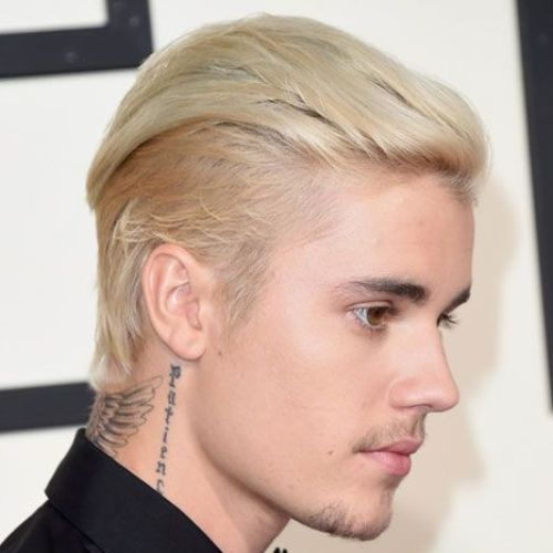 4 justin bieber hairstyle slicked back hairstyle