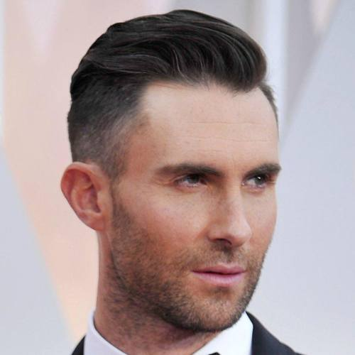 5 adam levine hairstyle latest side part fade hairstyle