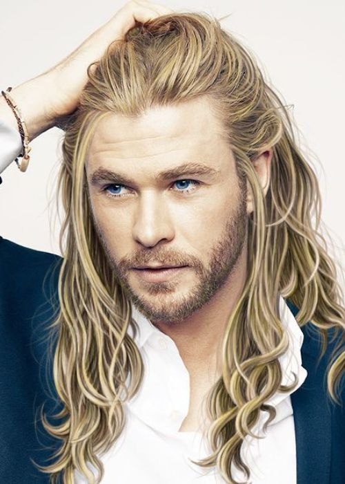 5 thor haircut blonde long hairstyle chris hemsworth hairstyle