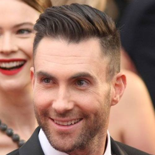 7 adam levine haircut latest high fade side part haircut