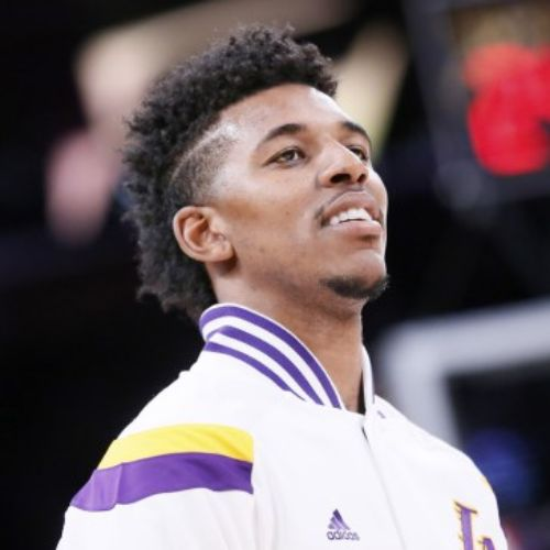 9 nick young haircut swaggy p hairstyle side part razor cut design side part fade hairstyle