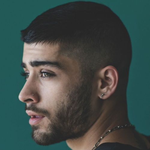 Low Fade Side Part Hairstyle zayn malik haircut