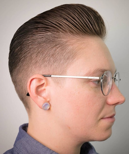 low fade haircut taper fade quiff