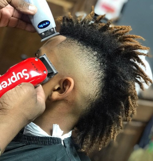 mohawk fade haircut how to make mohawk haircut